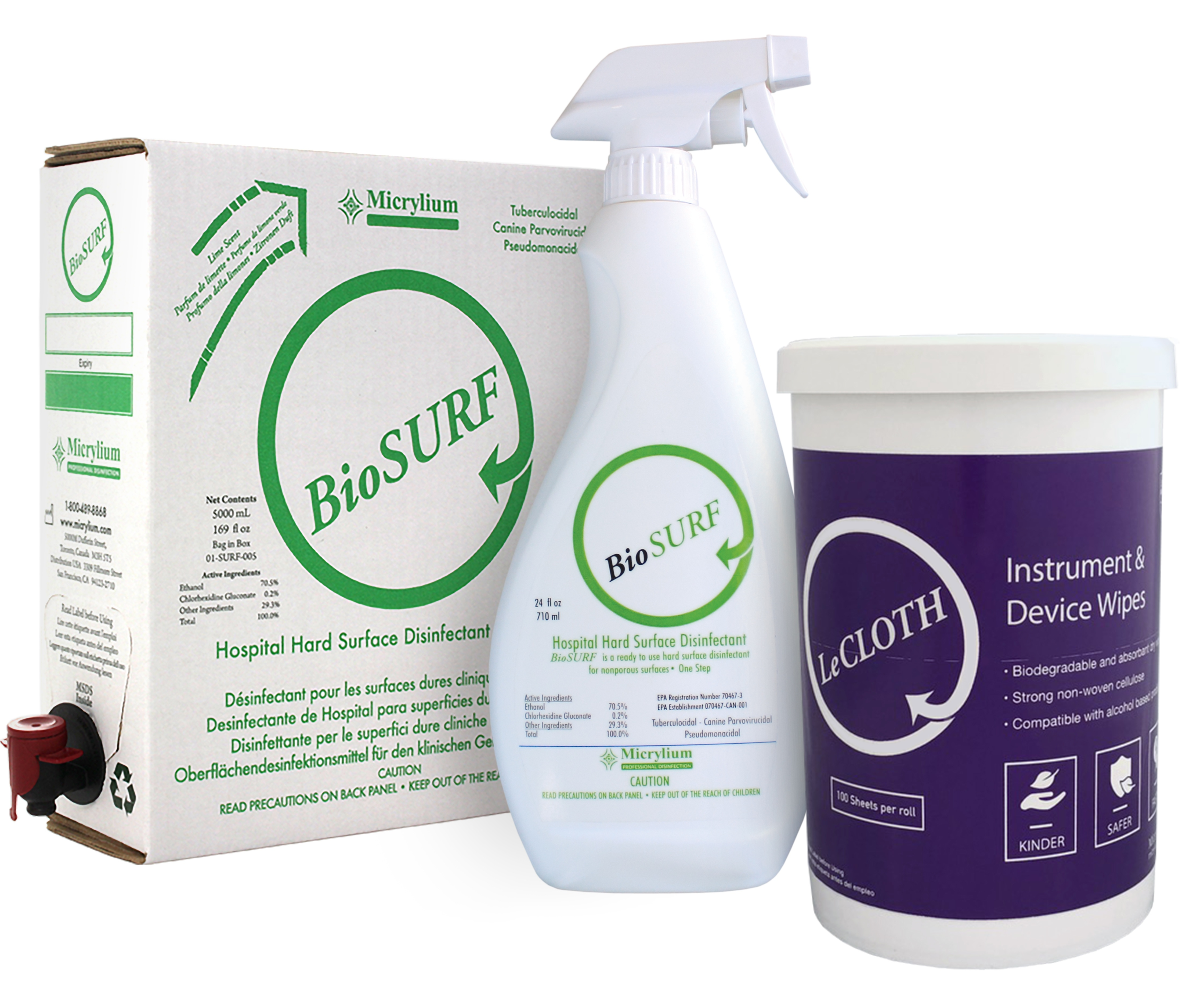 Biosurf surface disinfectant