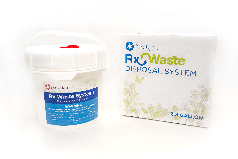 2.5 Gallon RxWaste Disposal System