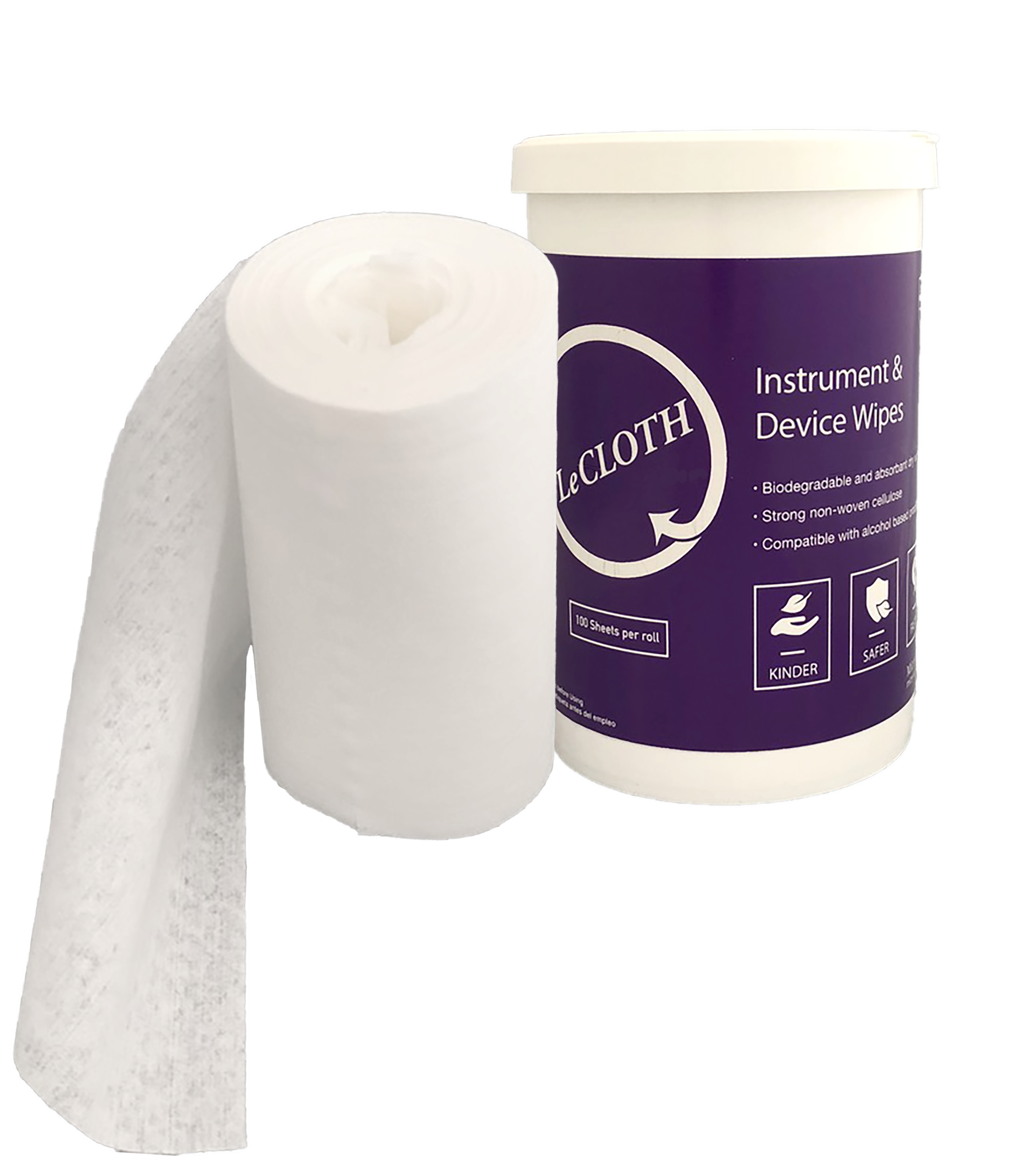LeCloth Canister & Roll