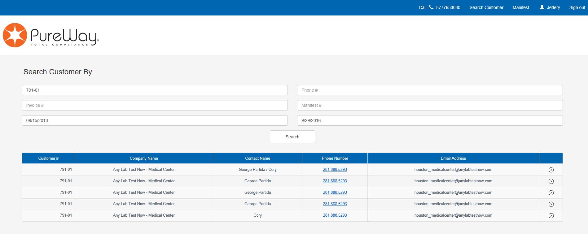 PureWay Online Tracking Documents