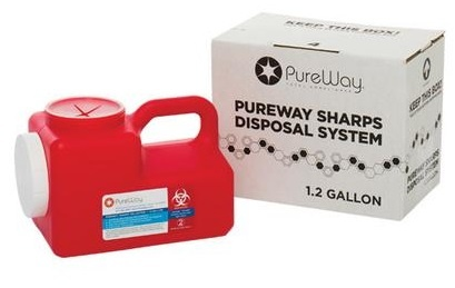 Safe Needle Disposal 1.2 Gallon Sharps